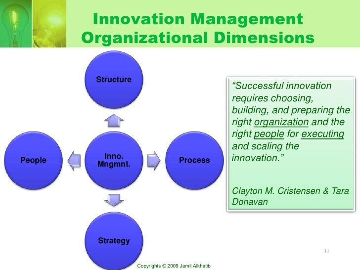 Technology Management Image: Technology And Innovation Management