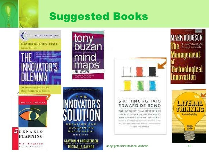 Suggested Books             Copyrights © 2009 Jamil Alkhatib   48