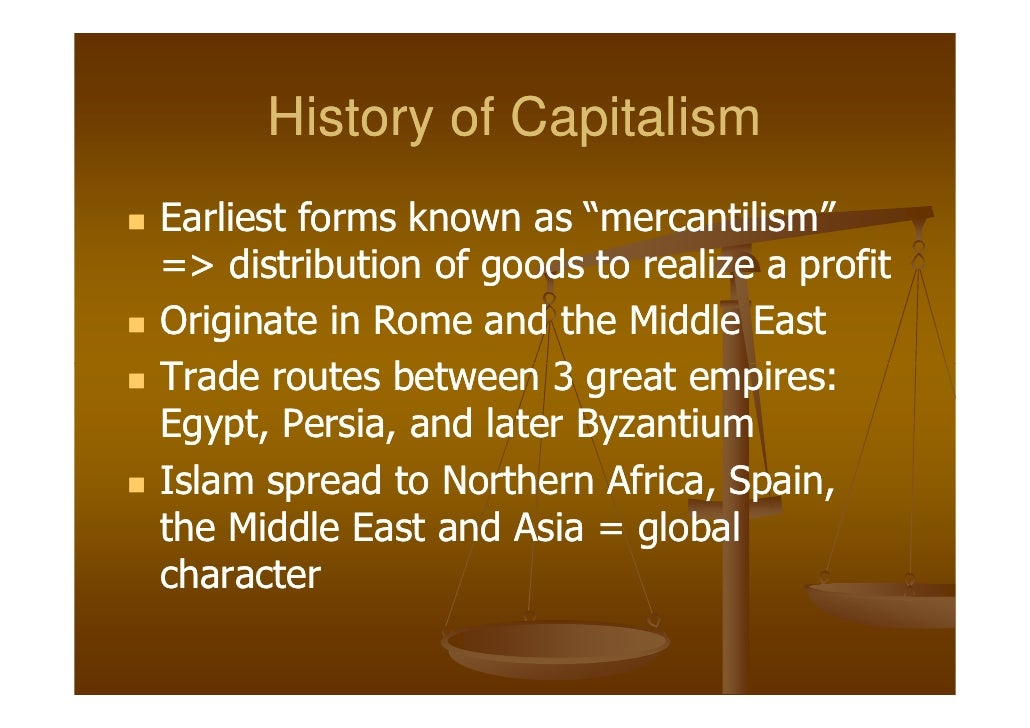 capitalism in early america The united states turns inward: the 1920s and 1930s after its participation in the conflagration then known as the great war, the american nation was ready to turn inward and concentrate on domestic affairs (a return to normalcy, as 1920 presidential candidate warren harding called it.