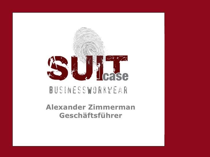 Alexander Zimmerman Geschäftsführer