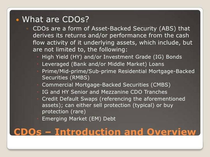 Mortgage Backed Securities Advantages Disadvantages