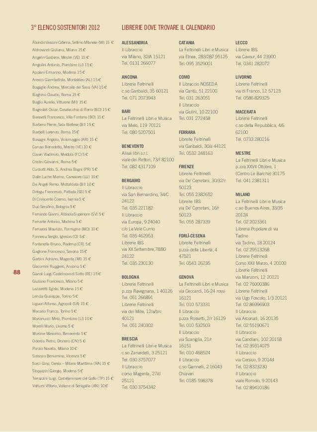 Il Calendario del Popolo - Periferie fisiche periferie mentali
