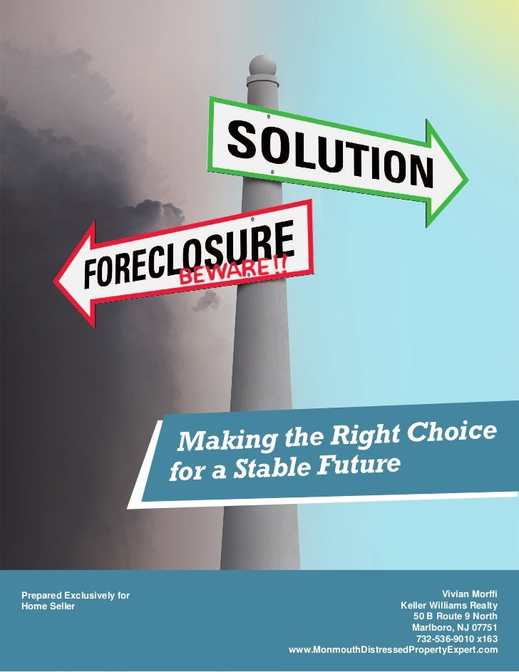M aking the Right Choice                           for a Stable FuturePrepared Exclusively for                            ...
