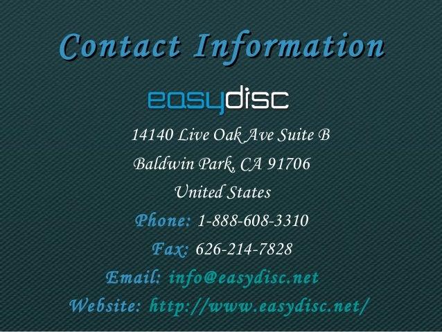 CCoonnttaacctt IInnffoorrmmaattiioonn  14140 Live Oak Ave Suite B  Baldwin Park, CA 91706  United States  Phone: 1-888-608...
