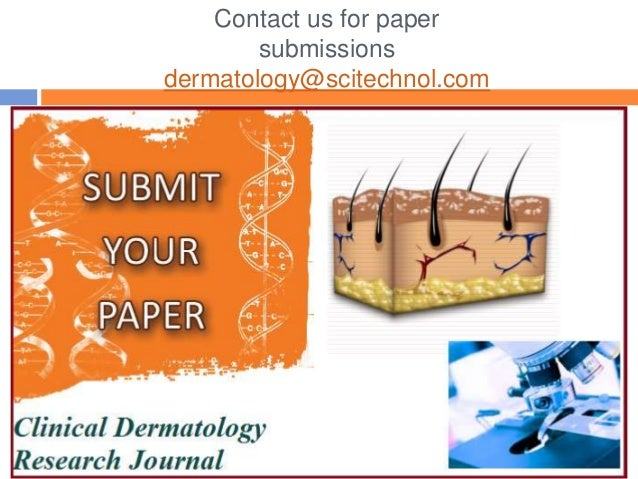 dermatologist research paper Seeking some thesis topics in dermatology to devote your paper to why not choose something important today and talk about hormones read this sample and get to know.