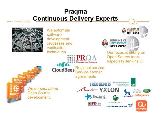 The Continuous Delivery toolstack for embedded Java af Leif Sørensen, Praqma Slide 2