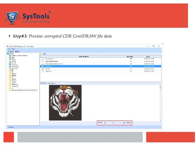 CDR Recovery Tool – FreeViewer