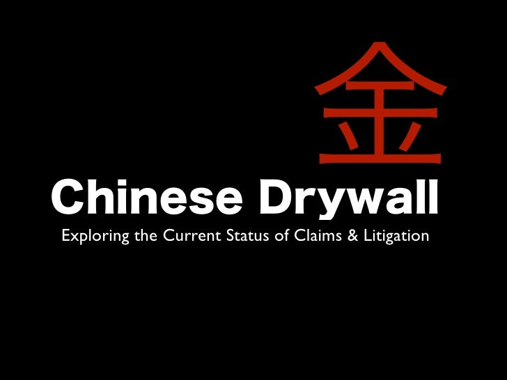 Exploring the Current Status of Claims & Litigation