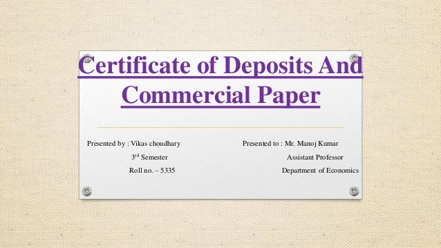 essay certificates of deposit Of saving and investing by following this advice: always pay move money from their paycheck and deposit it into a savings or investment account.