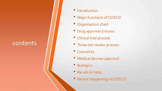 Cdsco- a regulatory overview Slide 2