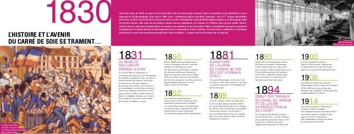 L'histoire et L'avenir                                                  1830   Vous êtes bien en 2010 au cœur du Carré de ...