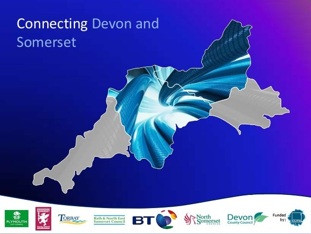 Connecting Devon andSomerset