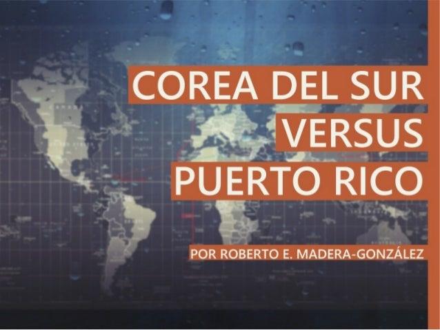 Corea del Sur vs Puerto Rico (Geografía)