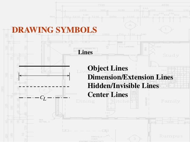 Drawing Lines In Keynote : Architectural working drawings part