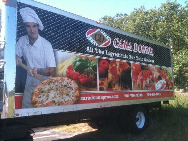 Truck Graphics for Caradonna