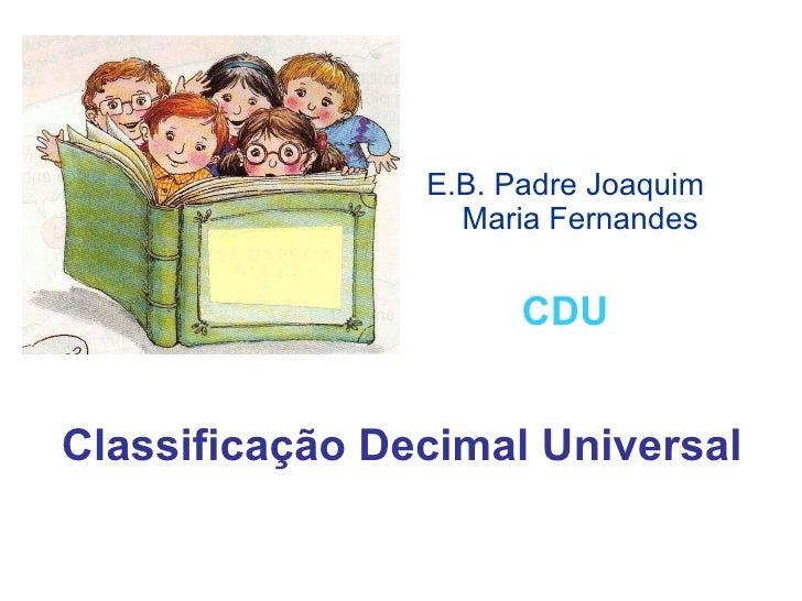 Cdu[1]apresentação