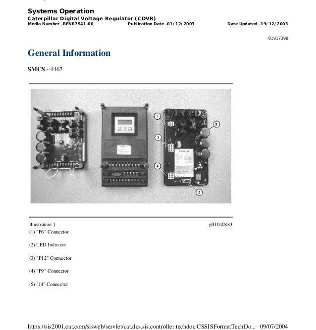 Cat digital Voltage regulator