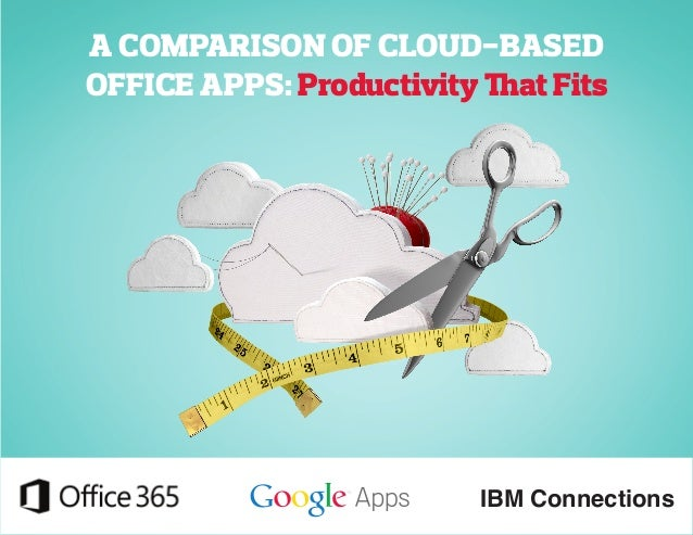 A COMPARISON OF CLOUD-BASED  OFFICE APPS: Productivity That Fits  IBM Connections