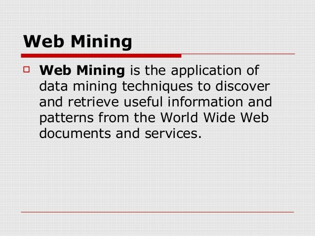 Web Usage Pattern Slide 3