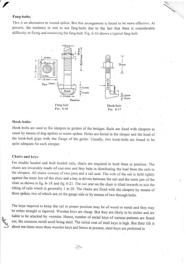Ce 451 part 2 (track fitting & fastenings)