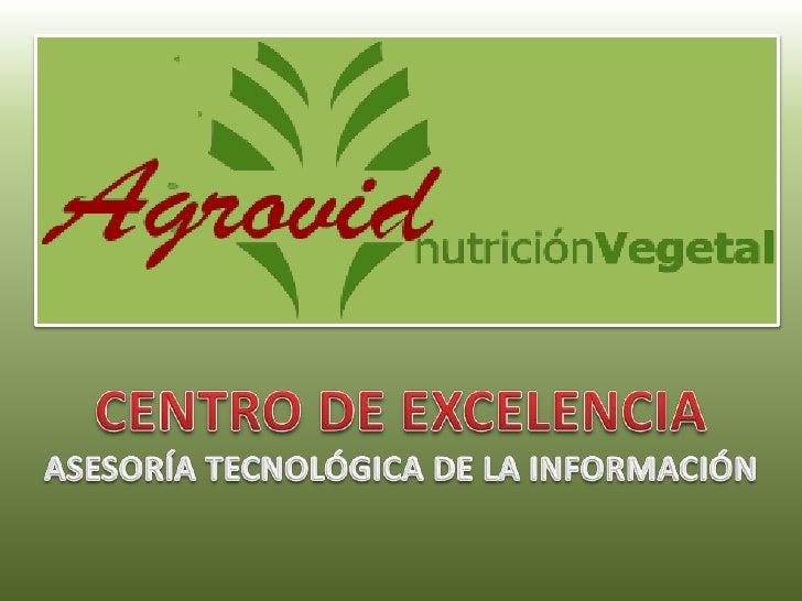 CENTRO DE EXCELENCIA<br />ASESORÍA TECNOLÓGICA DE LA INFORMACIÓN<br />