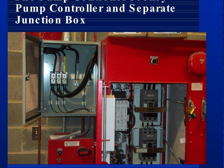 power supplies for electric motor driven fire pumps rh slideshare net Electrical Wiring From Fire Electrical Outlet Fire