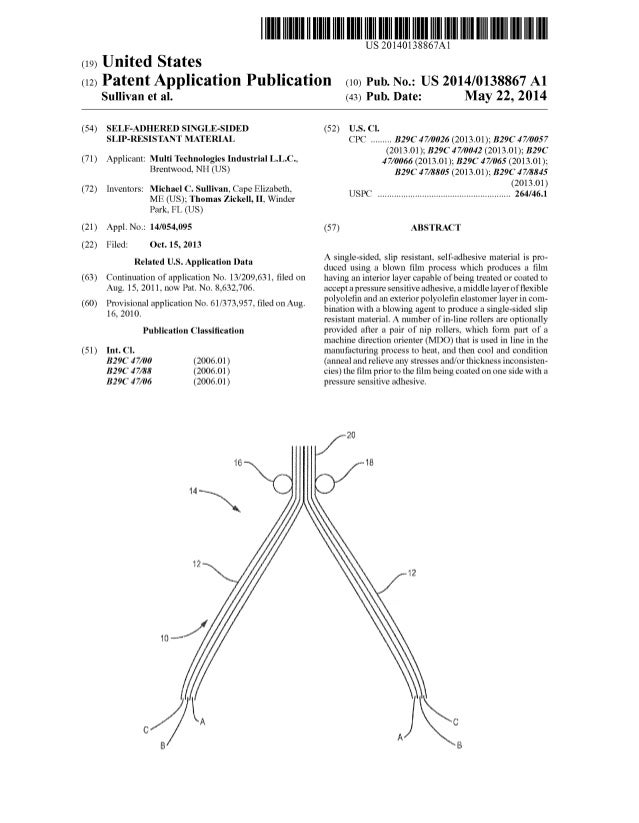 US 20140138867A1 (19) United States (12) Patent Application Publication (10) Pub. No.: US 2014/0138867 A1 Sullivan et al. ...