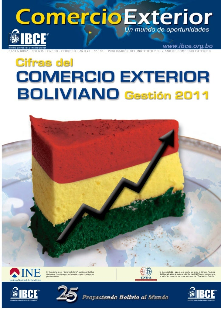 www.ibce.org.boSANTA CRUZ - BOLIVIA • ENERO - FEBRERO • AÑO 20 • Nº 199 • PUBLICACIÓN DEL INSTITUTO BOLIVIANO DE COMERCIO ...