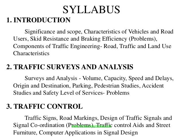 Ce2026 traffic engineering and management notes