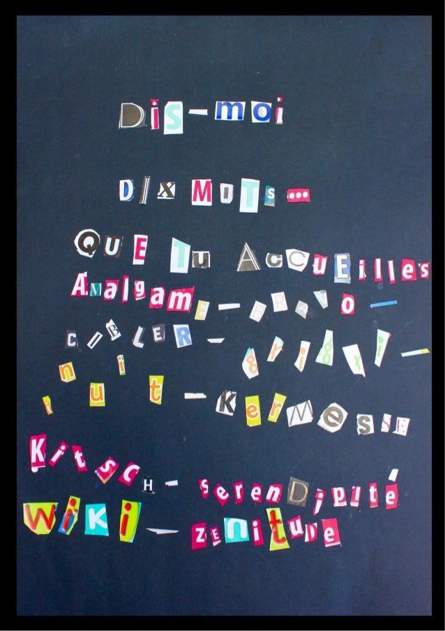 """Concours """"Dis-moi dix mots"""" - Lycée Français de Palma"""
