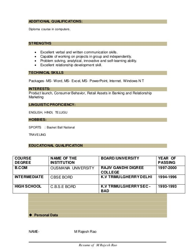 analytical resume skill