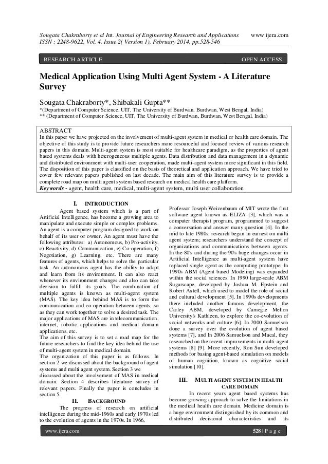 Sougata Chakraborty et al Int. Journal of Engineering Research and Applications ISSN : 2248-9622, Vol. 4, Issue 2( Version...