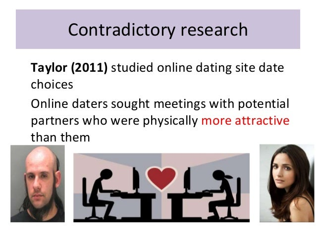 Matching hypothesis and ucla dating study