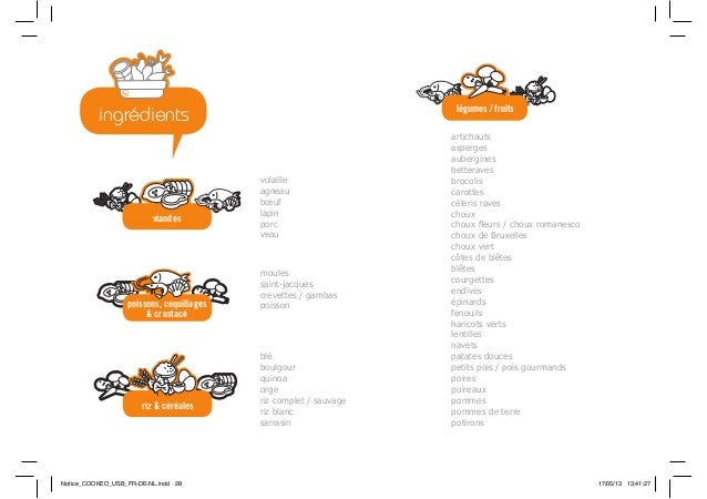 poissons, coquillages & crustacé riz & céréales viandes légumes / fruits volaille agneau bœuf lapin porc veau blé boulgour...