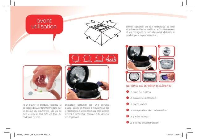 Sortez l'appareil de son emballage et lisez attentivement les instructions de fonctionnement et les consignes de sécurité ...