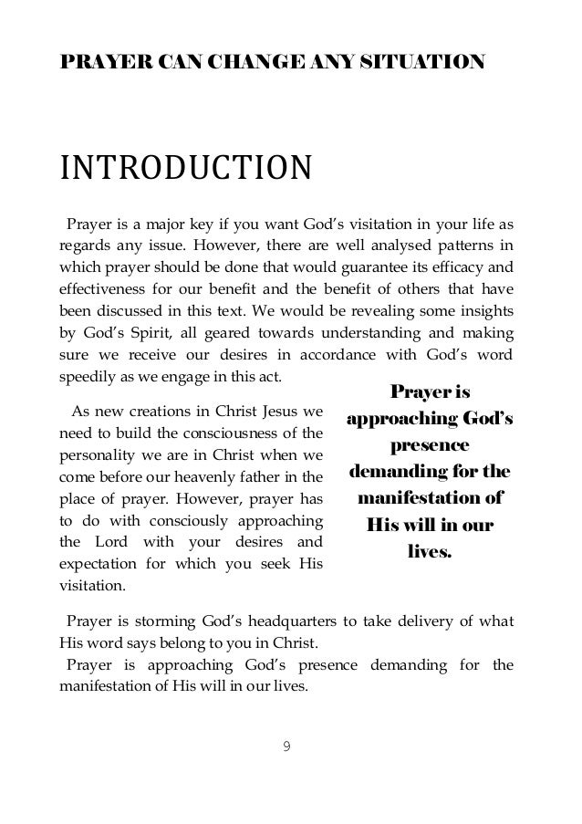 how to change prayer book