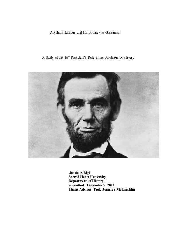 abe lincoln and slavery essay Lincoln did not free the slaves, but the slavery had overcome because of the struggle and sacrifices of millions people - black as well as whites here, lincoln played an important role, he deserved to be remembered as one of the great struggles for freedom in history.