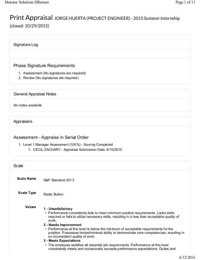 Signature Log Phase Signature Requirements 1. Assessment (No signatures are required) 2. Review (No signatures are require...