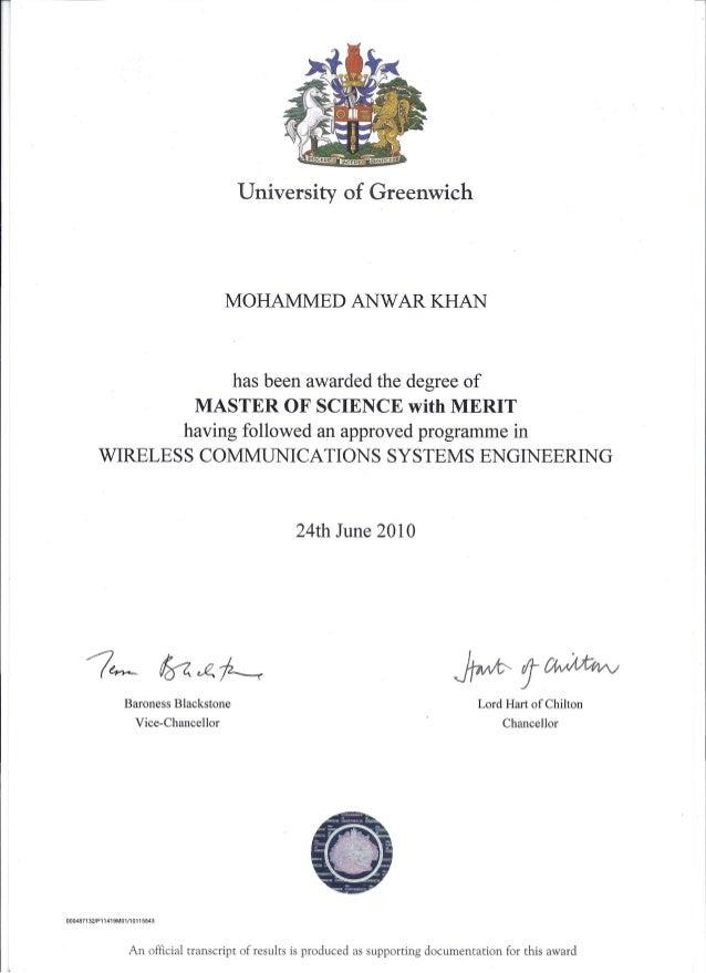 Ms Certificate Balep Midnightpig
