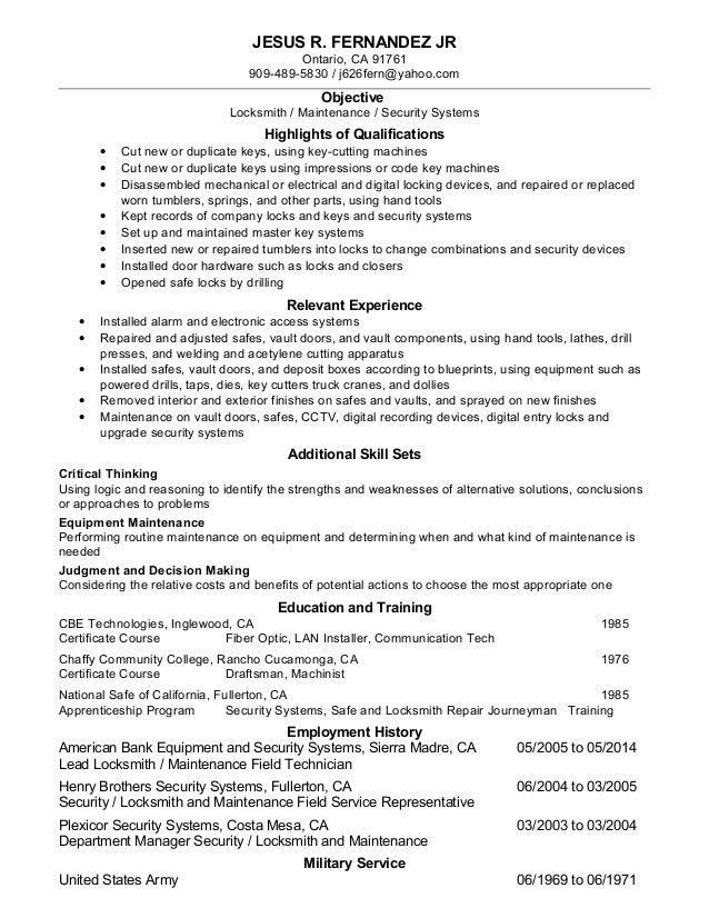 Older Resume Revised