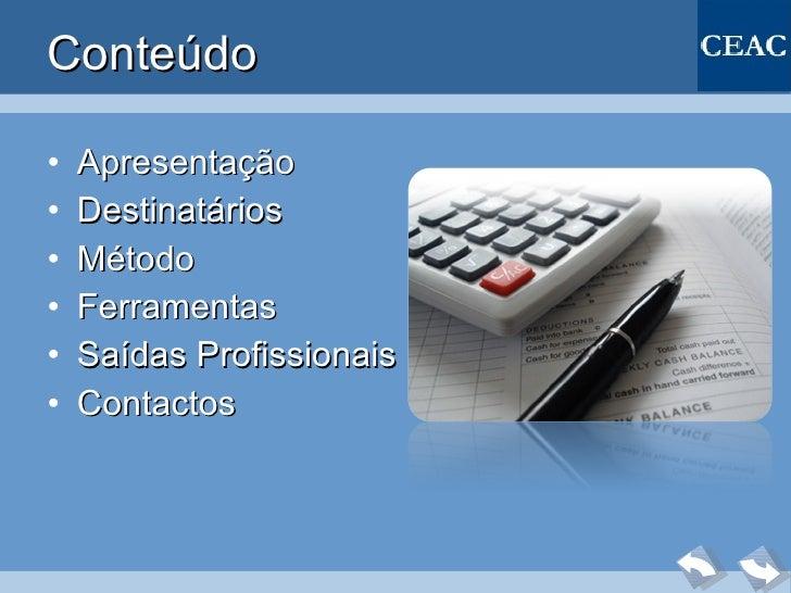 Cursos contabilidade