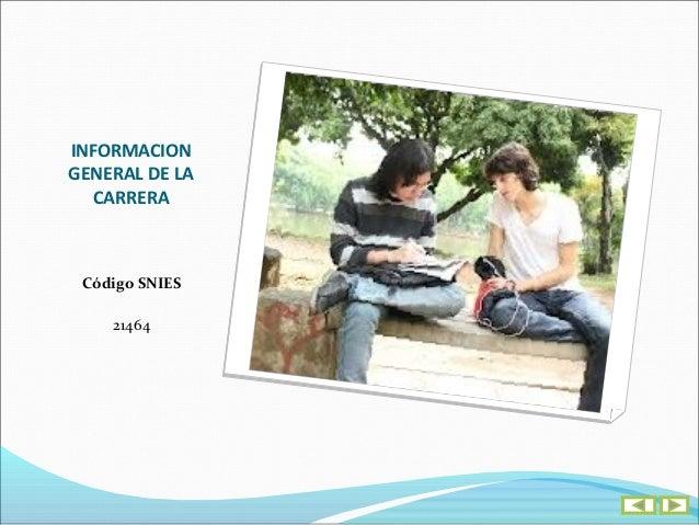 INFORMACIONGENERAL DE LA  CARRERA   DIRECCIÓNCalle 222 No. 55 - 37