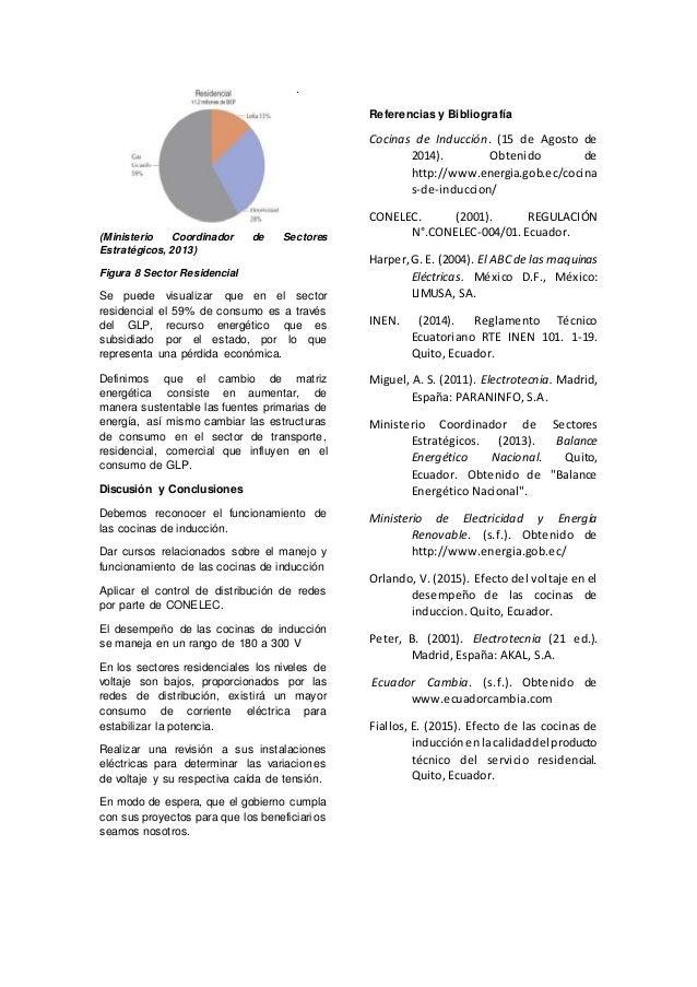 An lisis t cnico sobre las cocinas de inducci n - Consumo cocina induccion ...