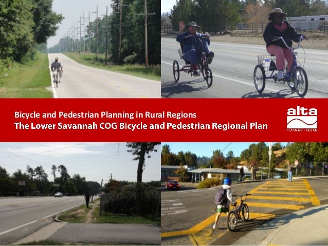 Bicycle and Pedestrian Planning in Rural Regions