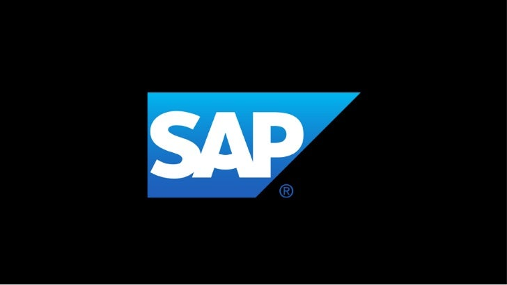 Legal disclaimerThe information in this presentation is confidential and proprietary to SAP and may not be disclosed witho...
