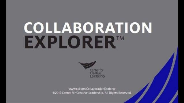 Collaboration Explorer™ (sample)