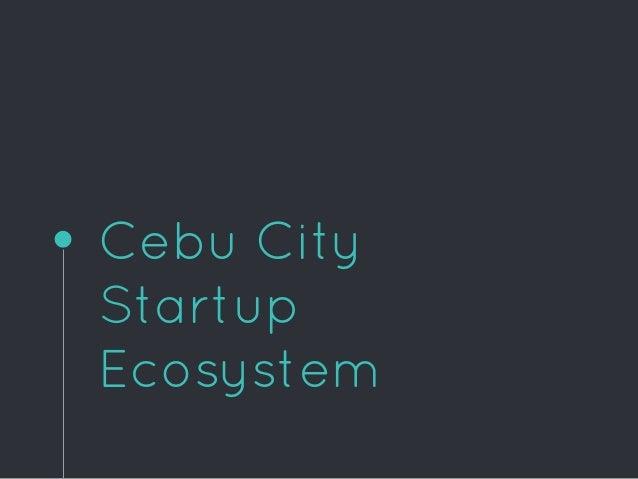 Cebu City Startup Ecosystem