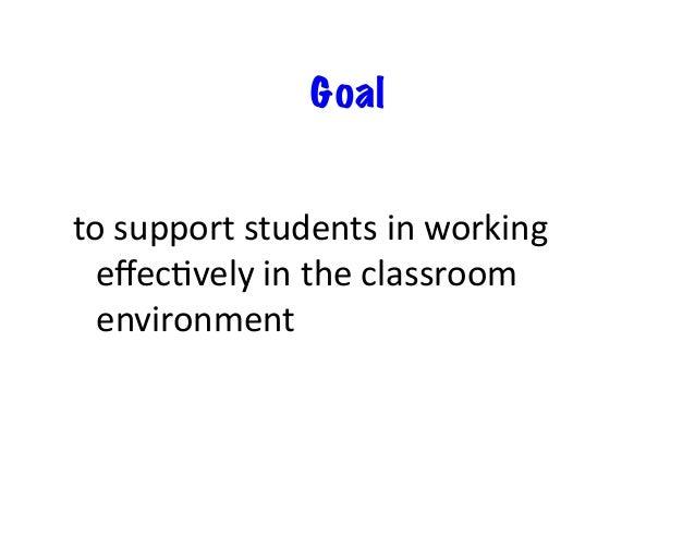Goal toworktogethertobefermeet theneedsofallstudents