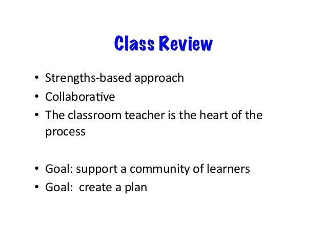 • Meetasaschool-basedteam,withthe administrator • Eachclassroomteacher(CT)joinstheteam for45minutesto...