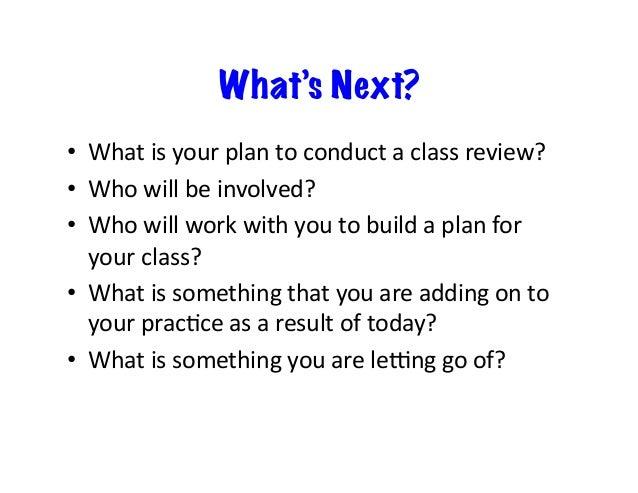 Class Review, School Review